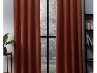 ATI Home Oxford Sateen Woven Blackout Grommet Top Curtain Panel  4 panels total