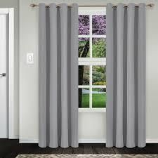 Superior Solid Insulated Thermal Blackout Grommet Curtain Panel Pair  4 panels total