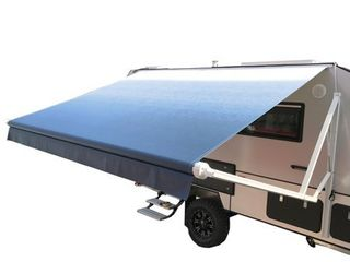 AlEKO Retractable Motorized RV or Home Patio Canopy Awning Frame 13 X8