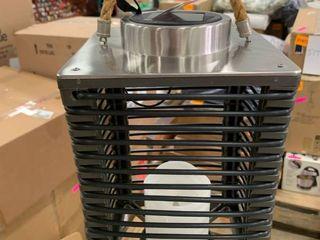 Brown   lantern   Plastic   7 in  x 7 in  x 11 in