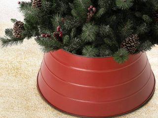 Glitzhome Christmas 22 inch Metal Tree Collar Retail 76 98