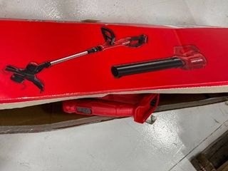 Craftsman Cordless 20v String Trimmer   Blower Kit  tested works