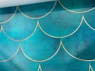 Ocean Waves removable wallpaper