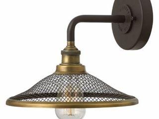 Hinkley lighting 4360 Rigby 1 light 8 5  Tall Wall Sconce