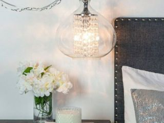Silver Orchid Wallock Hanging Pendant lamp