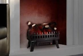 Northwest lED Electric log Insert for Fireplaces Heater with Realistic Energy efficient lED Glowing Flame Ember Bed Retail 109 99
