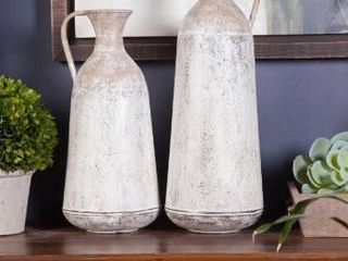 The Gray Barn 2 piece Roma Pitcher Vases
