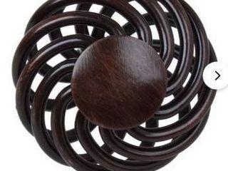GlideRite 1 5 inch Rustic Bronze Round Birdcage Cabinet Knobs  Pack of 25