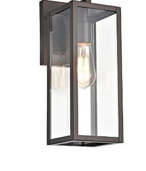 Starlee Tall Box Outdoor Wall Fixture by Havenside Home