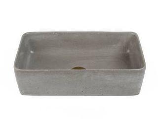 Stone  Concretti Designs Handmade Reno Concrete Vessel Sink Washbasin  Retail 258 49