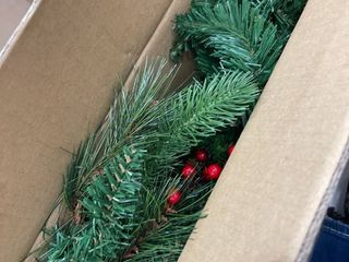 6 ft  long Needle Pine Cone Garland