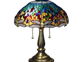 Tiffany style Yellow Dragonfly Table lamp Retail 129 04