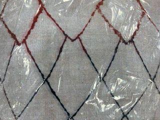 12x18 Aleena Designs tan pillow