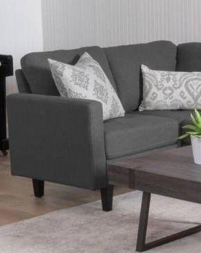 Zahra Modern Fabric Sofa Section