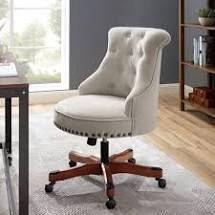 lINON Pamela Polyester Office Chair