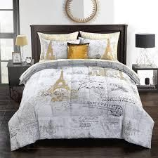 Mainstays Paris Voyager Bed in a Bag Set   Queen