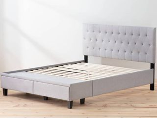 Brookside Anna Upholstered Storage Bed   Queen