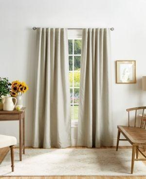 Martha Stewart Bedford Woven Plaid Blackout Curtains   Set of 2