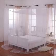 Palace 4 Post Sheer Panel Bed Canopy