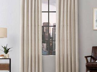 Scott living Semi Sheer Ring Top Curtain Panels   Set of 2