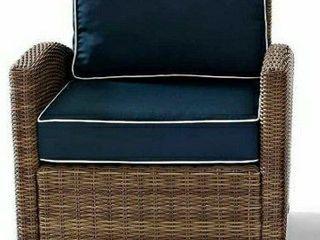 Bradenton Outdoor Wicker Back  amp  Seat Cushion Cover