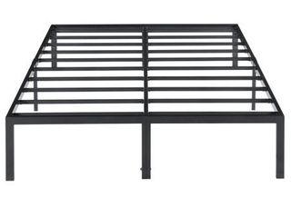 Sleeplanner Modern Metal Platform Bed Frame   King