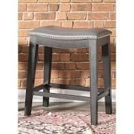 Copper Grove Divjake Bonded leather Saddle Counter Stool