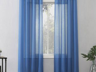 Emily Sheer Grommet Top Curtain Panel