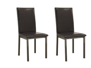 Coaster Everyday Garza Upholstered Dining Chairs   Set Of 2