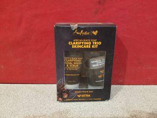 Shea Moisture African Black Soap Clarifying Trio Skin Care Kit