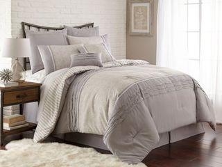 PCT Home Collection 8 pc Printed comforter set Camila California King