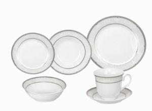 24 pc  dinnerware Set  lorren Home Trends Ballo Porcelain Dinnerware 24 piece Set  Retail 104 49
