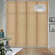 GoDear Design Natural Woven Adjustable Sliding Panel  45 8  86  W x 96  l  Retail 124 49