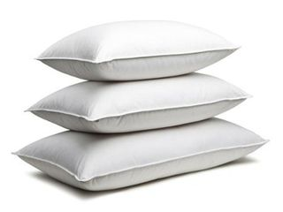 Soft   Standard  Canadian Down   Feather Company White Goose Feather Pillows  Set of 2