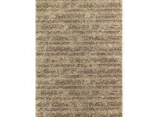 Mohawk Home Neutral Stripe Woven Area Rug  Retail 140 99