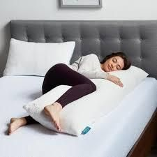 lUCID Comfort Collection Shredded Memory Foam B ody Pillow
