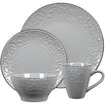 loren Home Trends 16 piece stoneware Sc