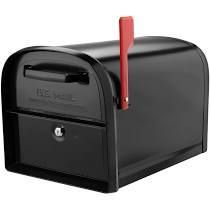 oasis 360 post mount locking mailbox black