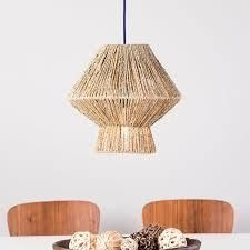 The Curated Nomad Westlake Seagrass 14 inch Pendant Shade