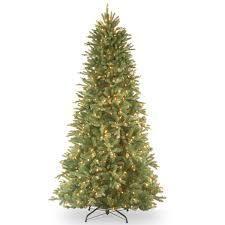 9 Foot  6 5 foot Realistic Fir lit Slim Tree  Retail 385 99