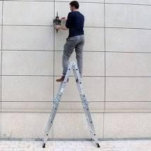 12 5FT Folding ladder Multi Purpose Aluminium