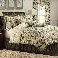 King  Williamsburg Garden Images 4 piece Comforter Set or Euro Sham  Retail 249 98
