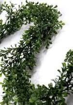 Multi Color  9 ft Artificial Boxwood Garland for Wedding