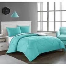 Porch   Den Rider Solid Reversible Comforter  Blue   Queen Full   Queen Full