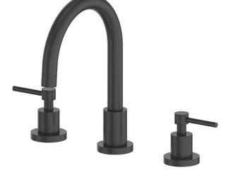 Matte Black  ZlINE Emerald Bay Bath Faucet in Matte Black  EMBY BF MB  Retail 329 95