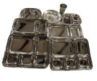 Stainless Steel Dish Set