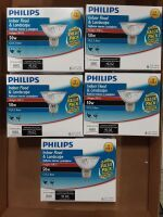 5 Packs of 6 Philips Indoor Flood and landscape 50w