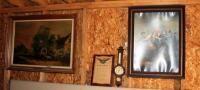 Vintage  Halfway House  by Shayer  Civil War Print By Willard  High Flight Poem  And Weather Station