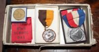 Vintage High School Award Pendants  Qty 7