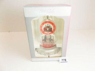 Coca Cola Anniversary Clock in box